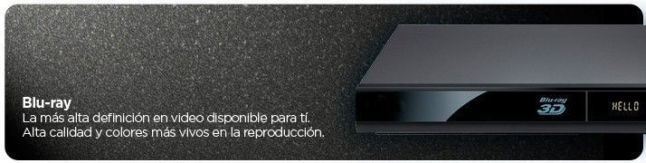 Reproductores Blu-Ray