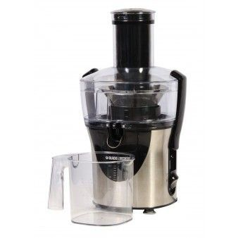 Black and Decker Extractor de jugo /  JM8000SBD  / 800 W