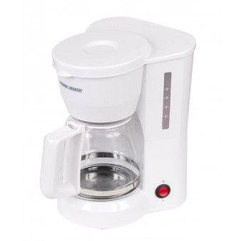 Black and Decker Cafetera / DCM600W / 5 Tazas