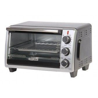 Black And Decker Horno Tostador / TO1950SBD / 6 Rebanadas
